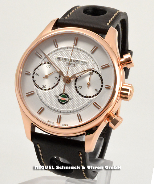 Frederique Constant Vintage Rally Healey Chronograph - 37,9% saved ! *
