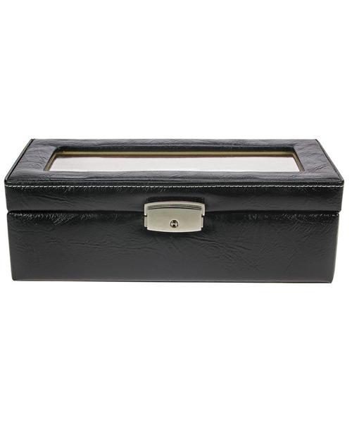 Uhren Schatulle in schwarz für 5 Uhren