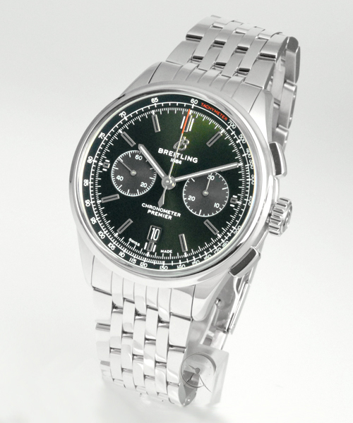 Breitling Premier B01 Chronograph 42 Bentley British Racing Green - 25,2% saved!*