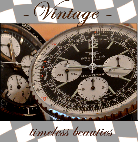 Vintage Edelstahl Omega Uhren